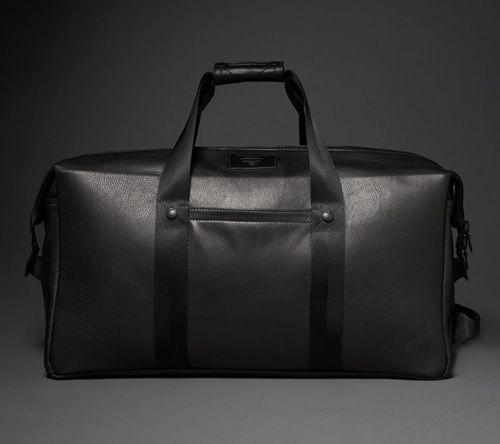 Killspencer Black Leather Weekender 2.0