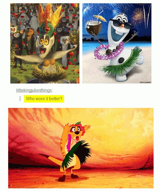 When they made the shocking discovery that Disney was clearly just reusing old costumes to save money. | 31 Times Tumblr Had Serious Questions About Disney