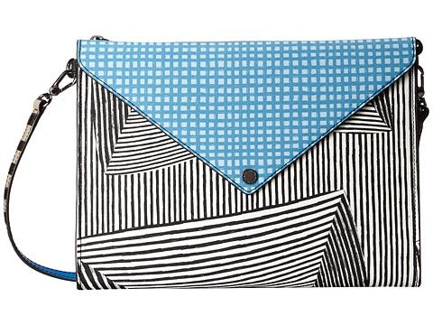 Marc by Marc Jacobs Marc by Marc Jacobs  Metropoli Optical Stripe Envelope Tablet Crossbody Computer Bags for 124.99 at Im in! #sale #fashion #I'mIn