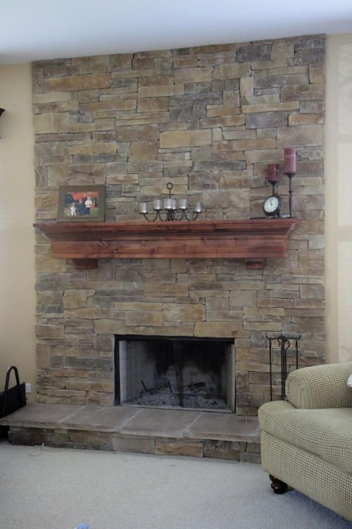 Mountain Stack Stone Fireplace 5 Stoves And Fireplaces
