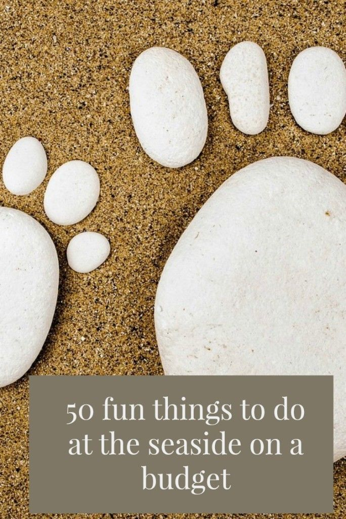 50 fun things to do at the seaside on a budget . If you are looking for cheap travel ideas of simply frugal family days out then these ideas are pefect