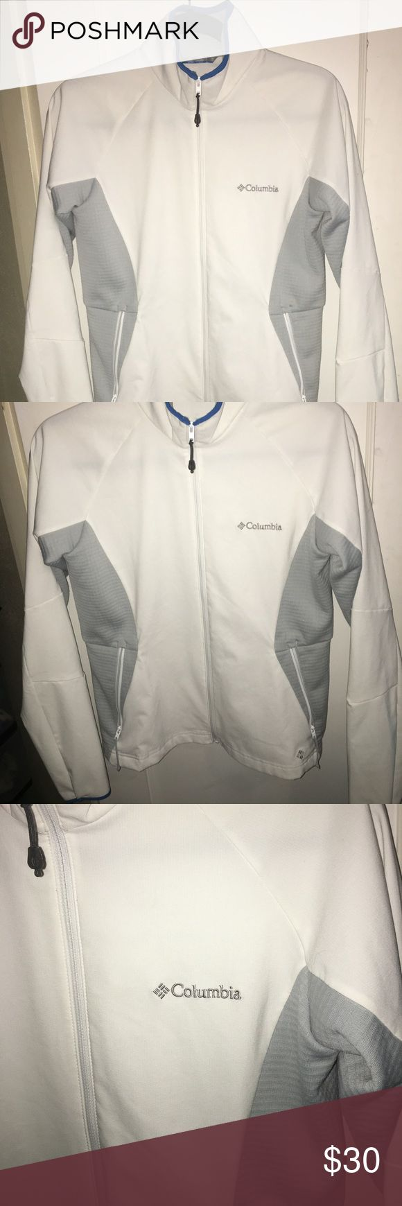 Columbia Omni-Wick Light Zip Up NWOT. Women's Columbia White Omni-Wick Light Zip Up.  Bought in Australia 🇦🇺  Never worn. ☺️ Perfect on a cool breezy day! 🍂💨⛅️  ✨Size: Small   Thanks for stopping by! 💜✌🏼 Columbia Tops Sweatshirts & Hoodies