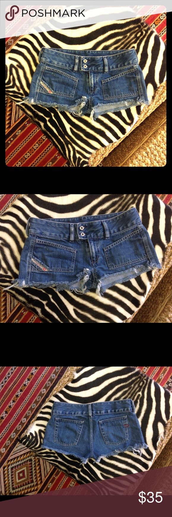 Dieisel Denim Shorts Authentic Diesel Denim Shorts Diesel Shorts Jean Shorts