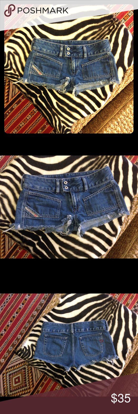 Dieisel Denim Shorts Authentic Diesel Denim Shorts Diesel Shorts Jean Shorts