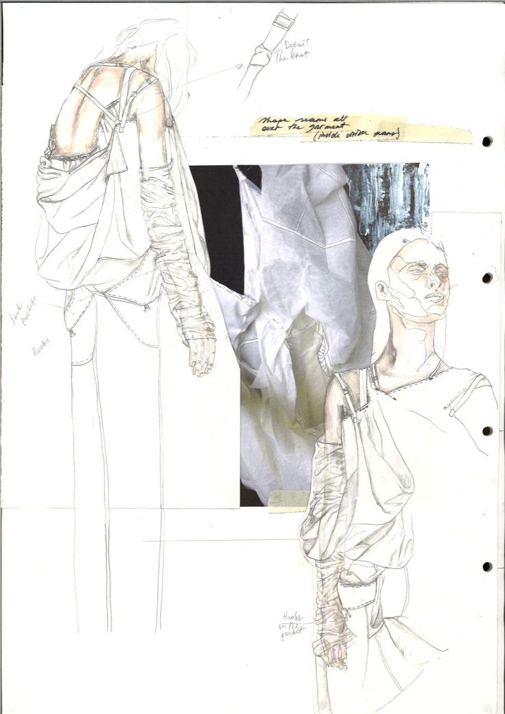 Fashion Sketchbook - fashion design development; fashion sketches; fashion portfolio // Irina Tsoy