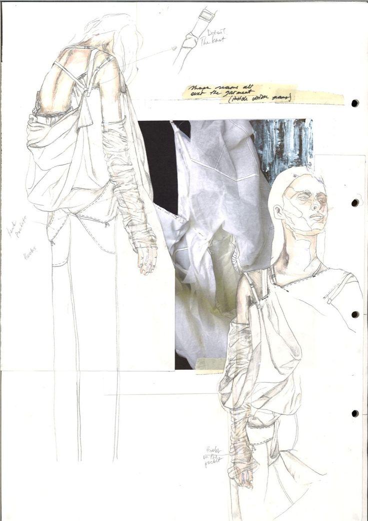 Fashion Sketchbook - fashion design development; fashion sketches; fashion portfolio // Irina Tsoy
