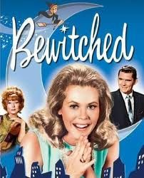 Bewitched, 1964-1972. Loved this show when I was a kid. Even now, sometimes when I'm cleaning the house I think - this would be so much easier if I could just wiggle my nose like Samantha Stephens.