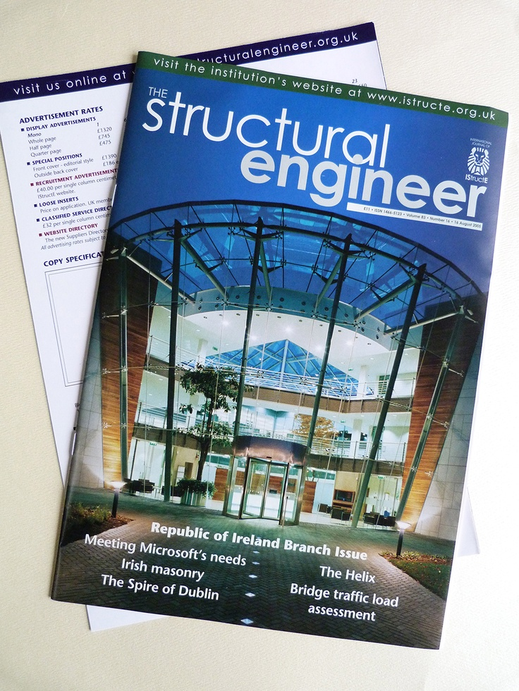 The Structural Engineer magazine