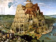 The Tower of Babel 1563  by Pieter the Elder Bruegel