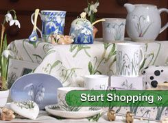 Snowdrop Gift Shop at Cambo House and Gardens - only 3 miles from Crail.