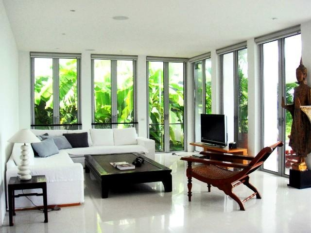Modern Style Meets Traditional Thai Decorating Elements Enjoy The Sea View From One Of