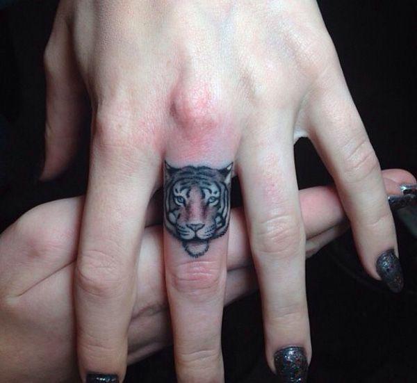 Increíbles diseños de tatuajes de tigres - Taringa!