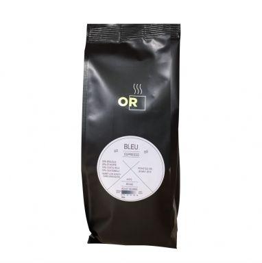 Or Coffee Bleu Espresso gemalen koffie  SHOP ONLINE: http://www.purelifestyle.be/shop/view/giving/koffie-thee/or-coffee-bleu-espresso-gemalen-koffie
