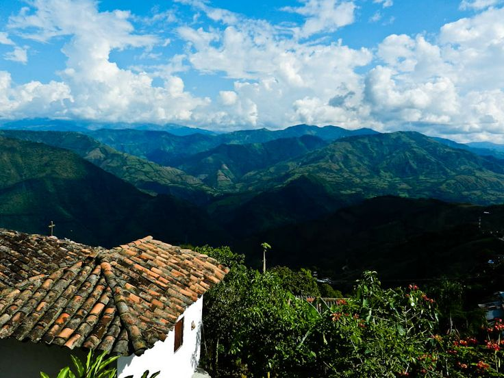 Colombian Coffee Region Colombian Coffee Region: View From the Gold Mine