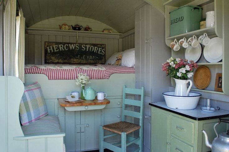 I love this look. How can I incorporate this into our trailer update??  Gallery - Plankbridge Shepherd Hut's Dorset