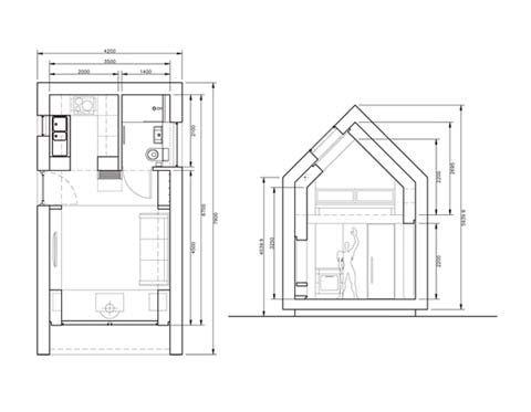 Prefab 'shed' drawings.