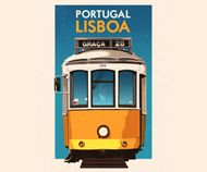 Portuguese travel posters by Rui RicardoArt and design inspiration from around the world – CreativeRoots