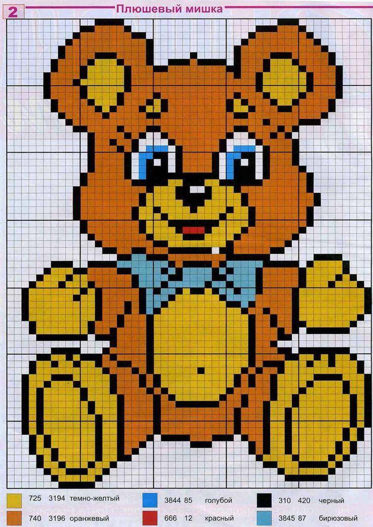 embroidery, cross-stitch embroidery, cross-stitch, embroidery scheme, children, small animals, children embroidery