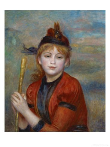 The Excursionist, 1896  Pierre-Auguste Renoir: Oil Paintings, Pierre Balmain, Oil On Canvas, 1841 1919, Winsom Paintingsportrait, Pierre August Renoir, Renoir 18411919, Pierreaugust Renoir
