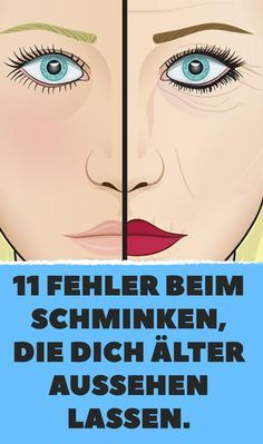 11 Fehler beim Schminken, die dich älter aussehen lassen. #makeup #tipps #tricks #beauty #antiaging
