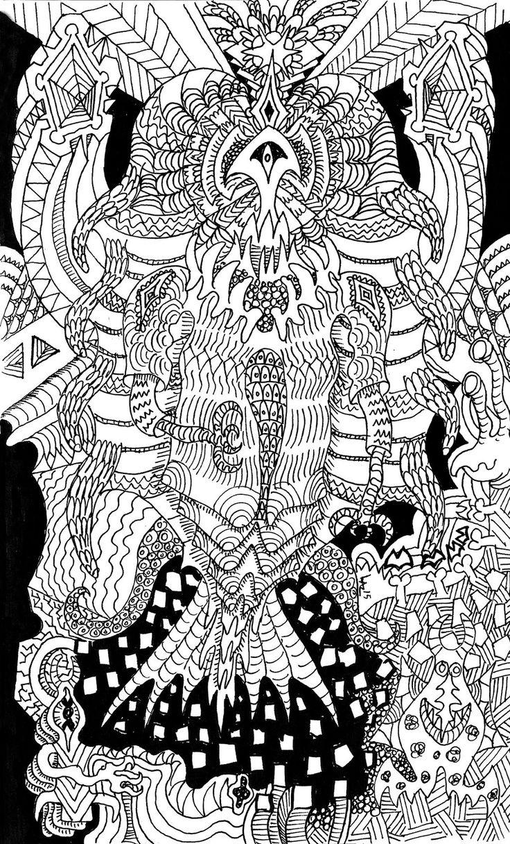 Doodle Godess by Sorazal999.deviantart.com on @DeviantArt