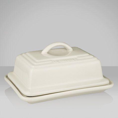 Buy Le Creuset Butter Dish Online at johnlewis.com Almond