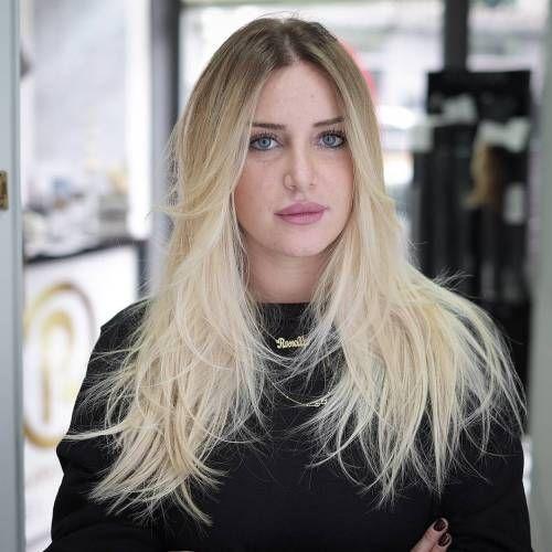 40 bild-perfect frisuren für lange dünne haare #dunne #