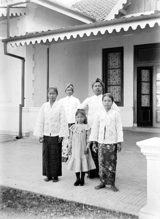 Bedienden, Bandung 1908