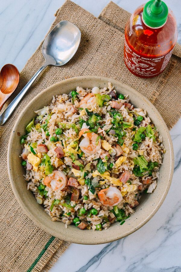 #Young #Chow #Fried #Rice Recipe, by http://thewoksoflife.com