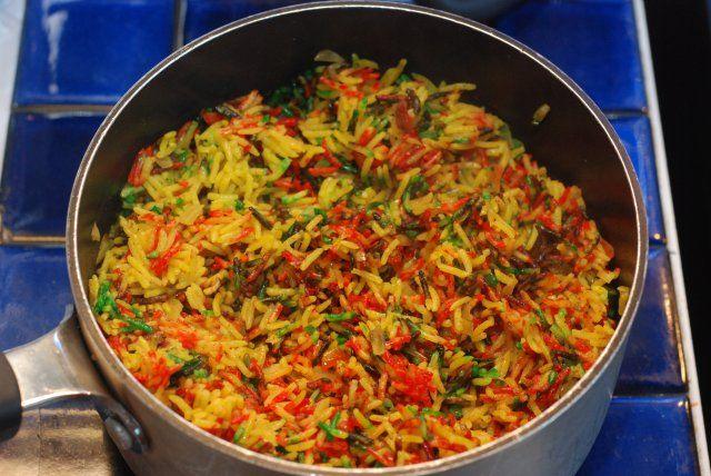 Pilau - Kenyan Fried Rice