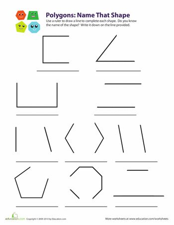 1000+ images about geometry worksheets on Pinterest | A love, Coloring ...