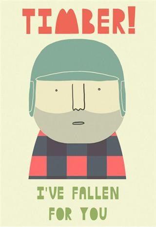 Lumberjack valentine @Alex Schroeter