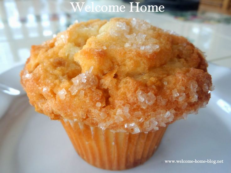 Welcome Home Blog: Hot Buttered Rum (Flavored) Muffins