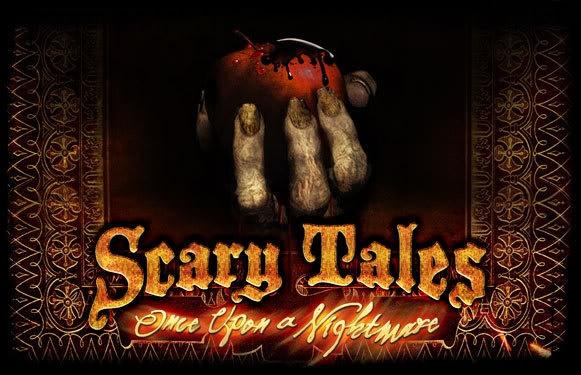 Scary tales image invite idea