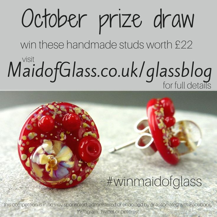 #winmaidofglass October 2016 www.Maidofglass.co.uk