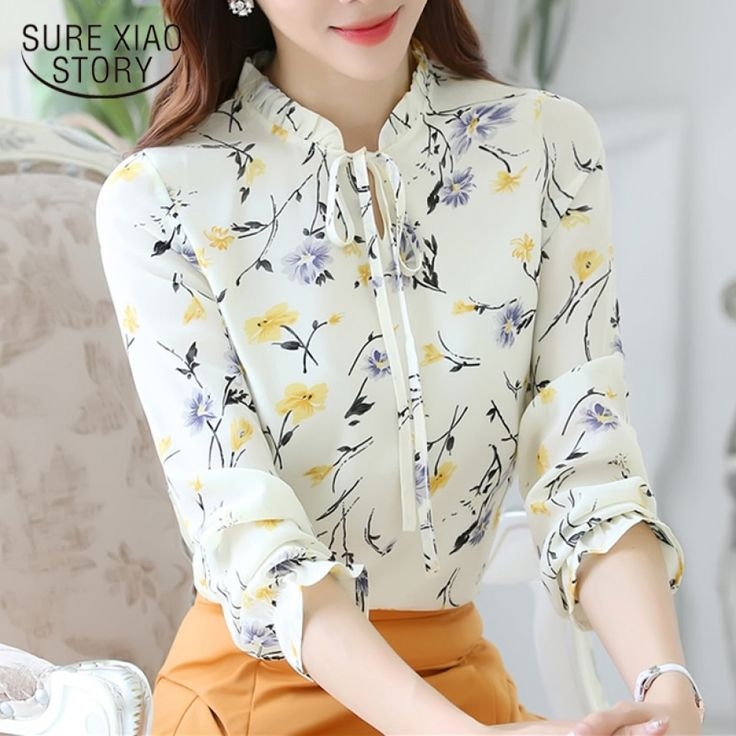 New fashion Slim Solid Color blouse/Long-sleeved/ Women Plus size/ elegant shirt