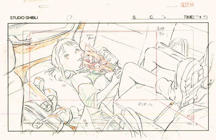 Ghibli Layout Designs