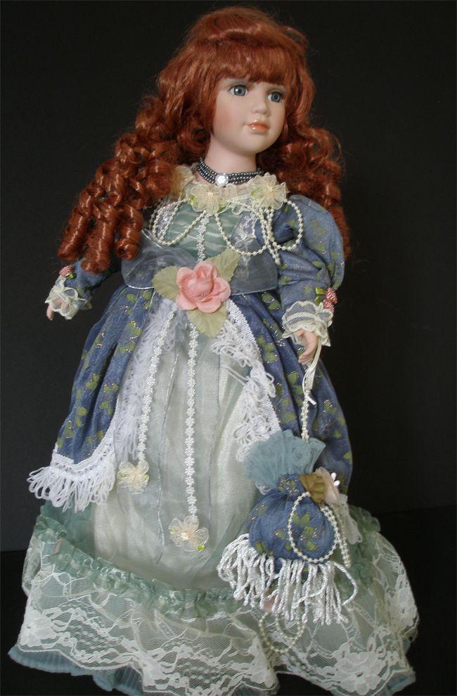 Porcelain Dolls for Sale   Vintage Duck House Porcelain, used collectible dolls for sale