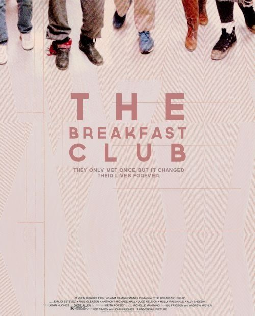 poster remake the breakfast club postersquotes