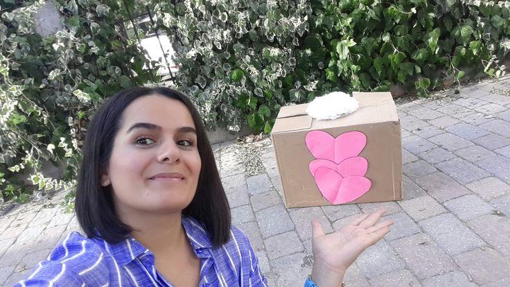 Kutunun içinde ne var kızıma hazırladığım  doğum günü süpriz kutu