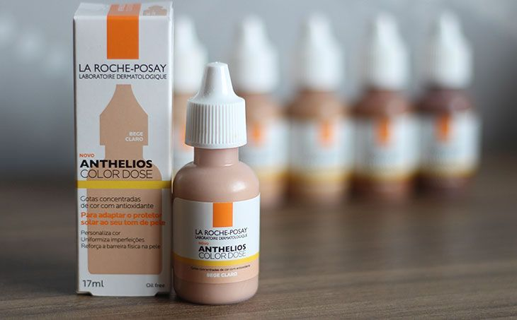 Resenha 3 Em 1 Testamos O Anthelios Color Dose Da La Roche Posay