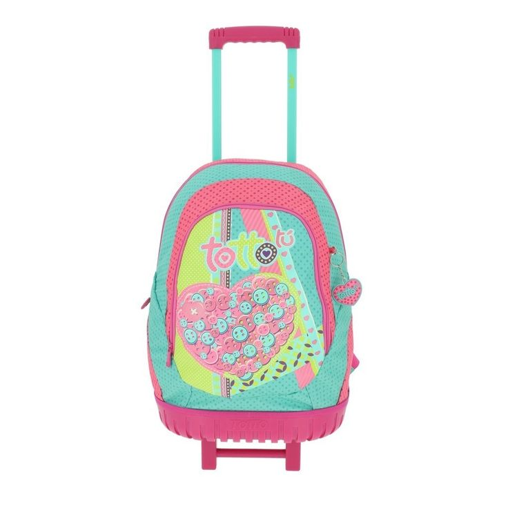 Yurak es el modelo de esta magnifica mochila Totto con ruedas se puede llevar también a la espalda de gran calidad