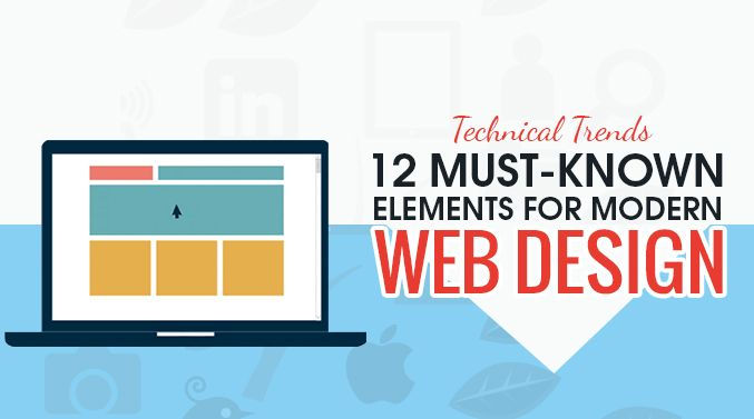 Technical Trends – 12 Must Known Elements for Modern #WebDesign #webdesigners