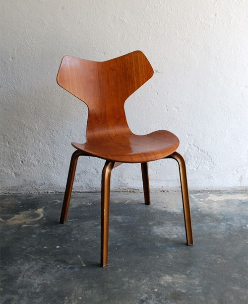 Grand prix chair by Arne Jacobsen. #allgoodthings #danish spotted by @missdesignsays
