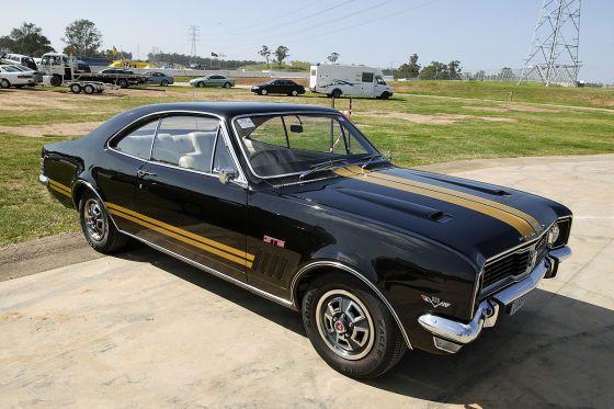 1969 Holden HT Monaro GTS 350 -- A little Australian muscle.