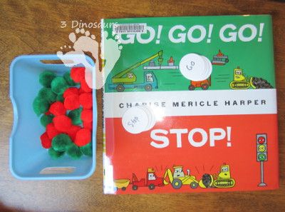 go go go stop traffic light 3dinosaurs