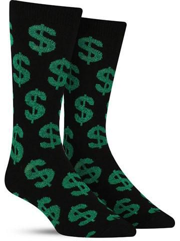 Cha Ching Money Cool Socks for Men