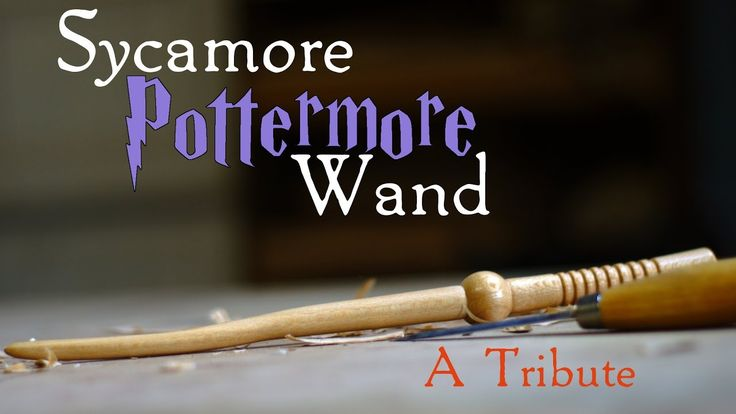 Woodturning a Custom Pottermore Wand