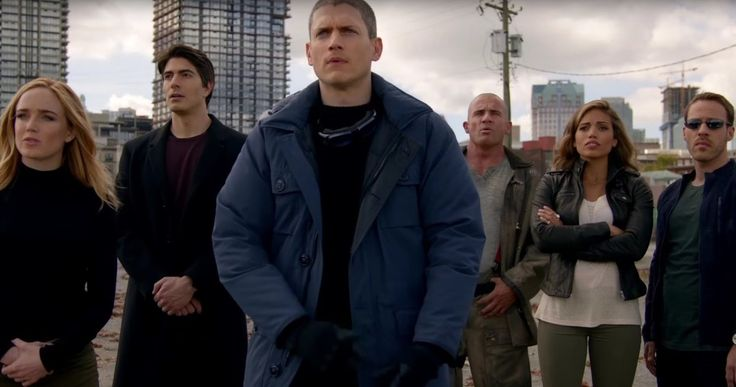DC's 'Legends of Tomorrow' Trailer: Rip Hunter Must Save the Future -- Arthur Darvill stars as Rip Hunter, who brings a group of heroes and villains together to stop Vandal Savage in 'DC's Legends of Tomorrow'. -- http://movieweb.com/dc-legends-of-tomorrow-trailer-future/