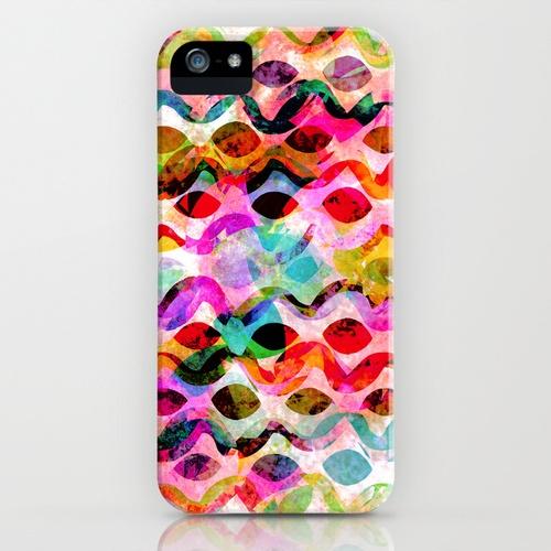 Summer pattern No.2 iPhone & iPod Case by Georgiana Paraschiv